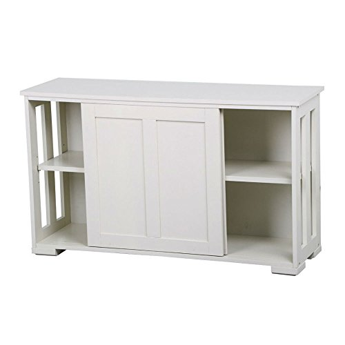 Sliding Door Buffet Sideboard Stackable Cabinets Kitchen Dining Storage Cupboard from Unknown