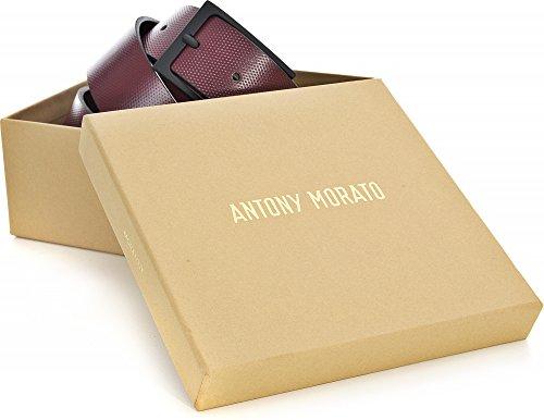 Cinta Mmbe00260 Bordeaux Fibbia Morato Uomo Con Logata Antony le100095 z5PqZn