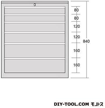 大阪製罐 キャビネットD レッド 幅×奥行×高さ:696×475×840mm D222R