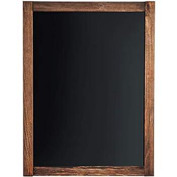 Chalkboard - Magnetic, Non-Porous - Framed Chalkboard - Vintage Decor - Chalk Board for Wedding Kitchen Bar Restaurant Menu, Home - Chalkboard Sign - 18 x 24 inches - Wall Mounted Chalkboard - Large
