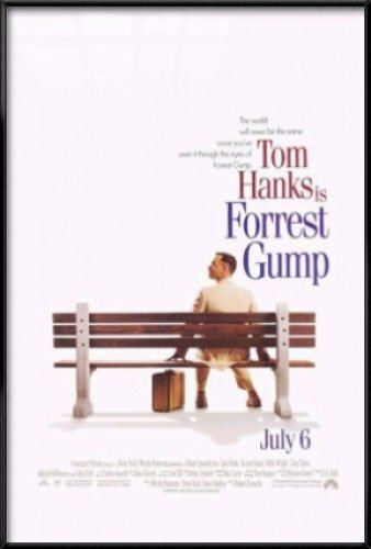Forrest Gump - Framed Movie Poster / Print