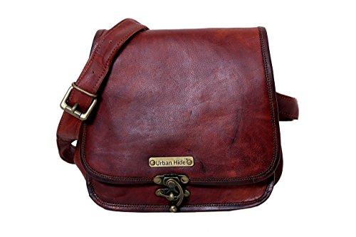 Handmade Genuine Leather Ladies Satchel Purse - Purse Handmade Leather