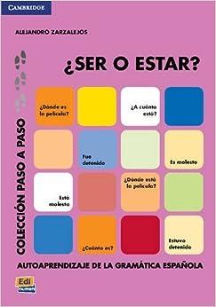 Book ¿Ser o estar? (Paso a Paso) (Spanish Edition) by Alejandro Zarzalejos Alonso (2014-08-11)