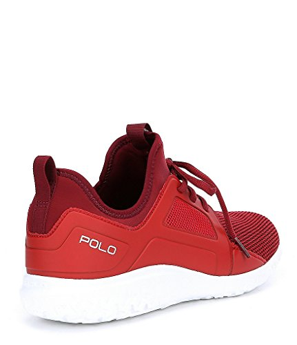 Polo Ralph Lauren Train 150 Mesh Espadrille Rouge