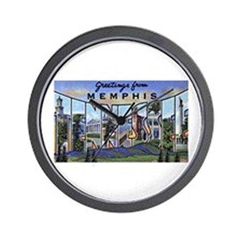 CafePress - Memphis Tennessee Greetings Wall Clock - Unique Decorative 10