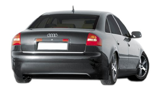 Duraflex Replacement for 2002-2004 Audi A6 C5 Type A Rear Lip Under Spoiler Air Dam - 1 Piece