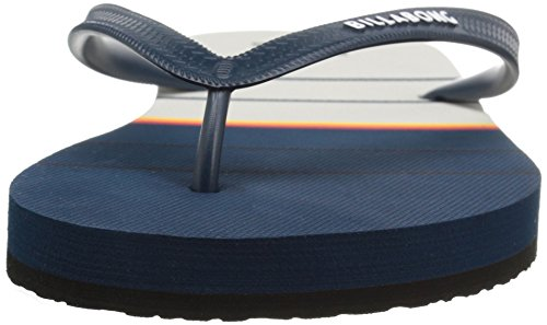 Billabong Mens Spin Thong Water Resistant Sandal Flip Flop Navy BIu0kT0uRY