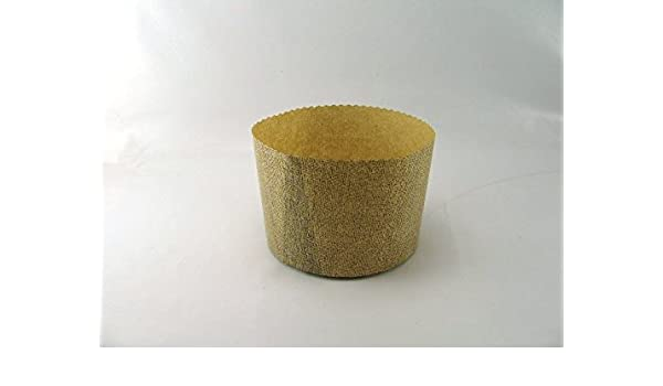 4 moldes de papel para pan dulce de 1 Kg., art. G9F01040: Amazon.es: Hogar