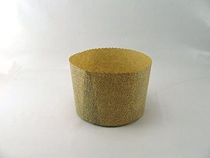 4 moldes de papel para pan dulce de 1 Kg., art. G9F01040