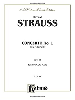 ((BEST)) Horn Concerto No. 1, Op. 11 In E-Flat Major (Orch.) (Kalmus Edition). Jonathan Triple INICIO across Clanak Catalog