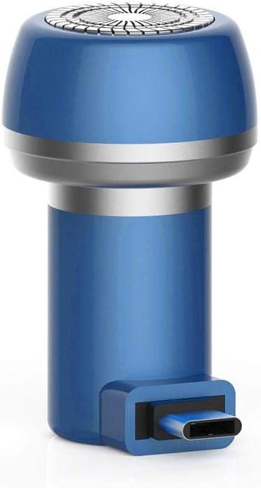 Maquinilla de Afeitar eléctrica para Hombres, afeitadora USB para ...