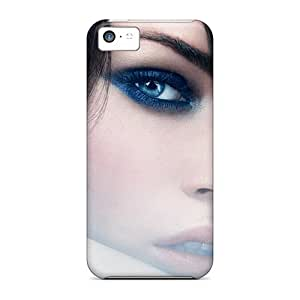 Ultra Slim Fit Hard Flower's Town Case Cover Specially Made For Iphone 5c- Megan Fox 73