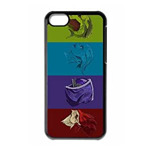 Fashionable Creative Mass Effect Cover case For iPhone 5C KS1L93220