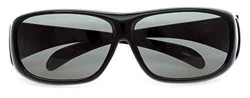 콜맨 (Coleman) 선글라스 안경 위에 쓰는 편광 선글라스 오버 글라스 CO3012-1