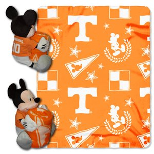 (The Northwest Company Officially Licensed NCAA Tennessee Volunteers Co Disney's Mickey Hugger and Fleece Throw Blanket)
