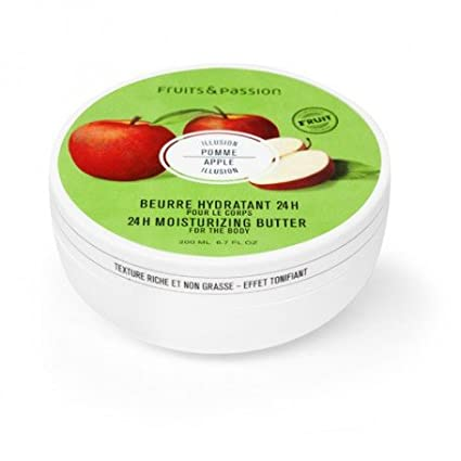 Fruits & Passion's 24h Moisturizing Body Butter, Grapefruit Guava, Vitality Collection, 200 ml