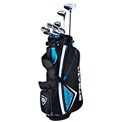 The Strata Set is designed to give you maximum performance right out of the box for more confidence from tee-to-green. The lightweight 460cc forged driver, fairway wood, hybrid, irons and putter make up a set that provides a great combination...