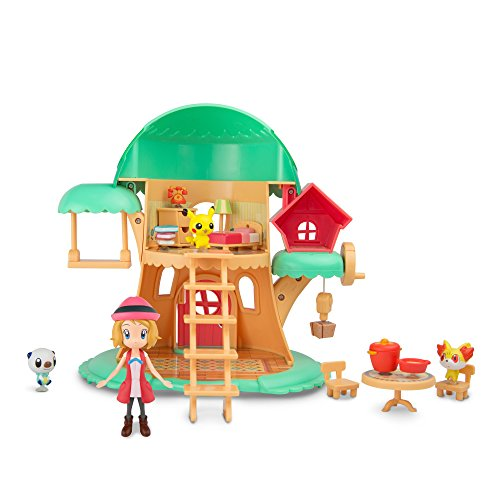 TOMY Pokémon Petite Pals Escape in The Forest Playset