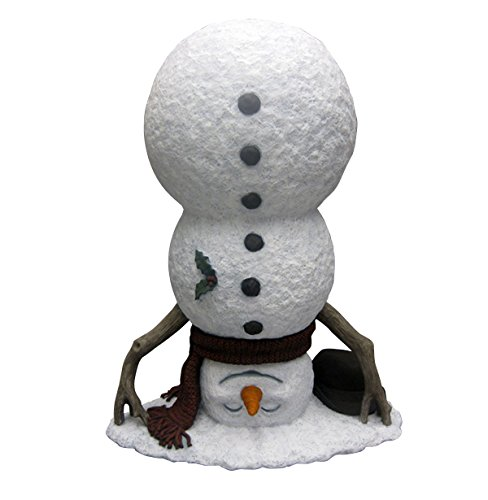 Design House Upside Down Snowman Lawn Decoration, 20