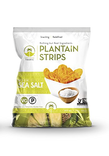 Price comparison product image Artisan Tropic Plantain Strips: Sea Salt 1.75oz (16 pack)