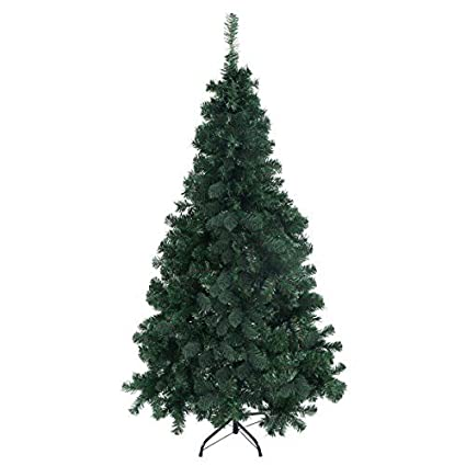 furinho bush 6ft artificial pvc christmas tree wstand holiday season indoor outdoor green