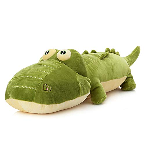 Filled Alligator Pillow - elfishgo Crocodile Big Hugging Pillow, Soft Alligator Plush Stuffed Animal Toy Gifts for Kids, Birthday, Christmas 25.6