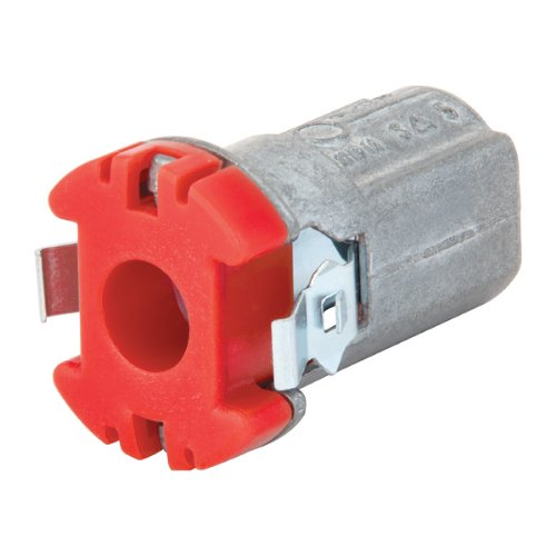 Madison Electric Products MCS38 Cut-In Snap Lock Bx Connector - Pack of 25 by Madison Electric Products