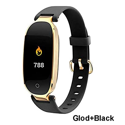 WMC IP67 Waterproof Smart Bracelet Heart Rate Step-By-Step Bluetooth Display Sports Color Display Wristband C Estimated Price £52.65 -