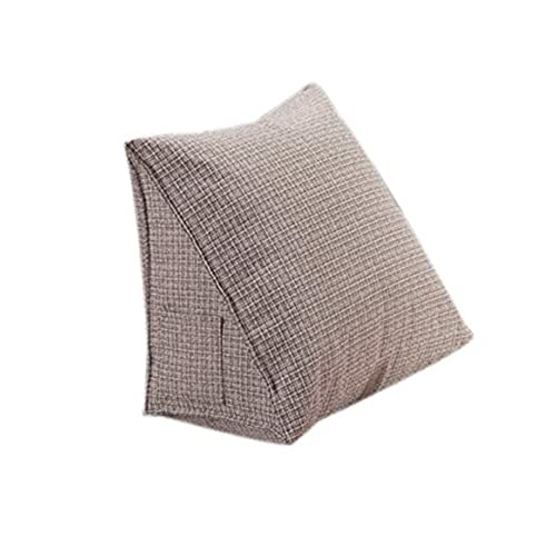 Halovie Back Wedge Cushion 40*20*36CM Sofa Bed Office Chair Rest Cushion  Back Support Throw Pillow