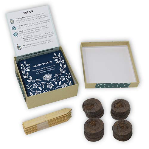 Herb Garden Seed Starter Kit - Plant Herb Seeds Your Self and Grow Your Own Herb Seedlings - Indoor or Out (with peat pods/pellets) by Urban Leaf (Image #6)