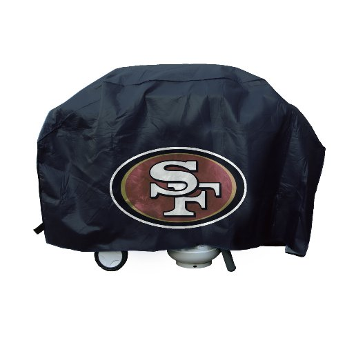Deluxe Barbeque Grill Cover (NFL San Francisco 49ers Deluxe Grill Cover)
