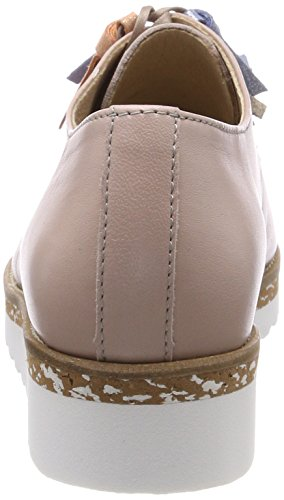 Rose rose Lovebird À Derby Blue 34 Of Femme Lacets Chaussures Pinto qnzfx8