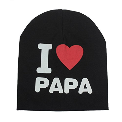 Zando-Cotton-Toddler-Infant-Baby-Soft-Cute-I-LOVE-MAMAPAPA-Knit-Hat-Beanies-Cap