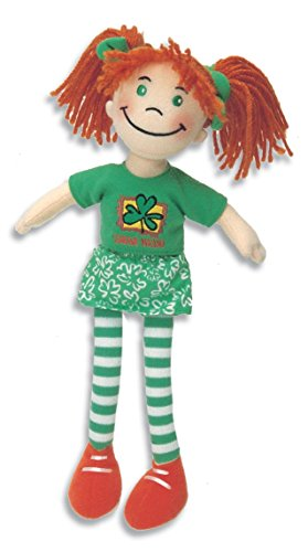 Little Annie Rag Doll Soft Toy Perfect for St Patrick's Day