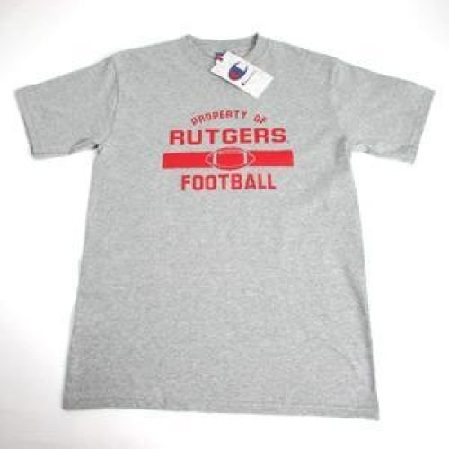 Champion Rutgers Scarlet Knights Property Of Rutgers Scarlet Knights Football - Oxford - Unisex - 2XL