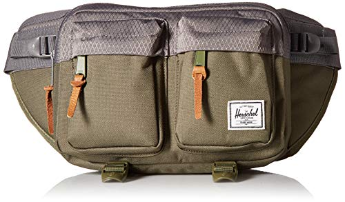 Herschel Eighteen Waist Pack, Ivory Green/Smoked Pearl, One Size