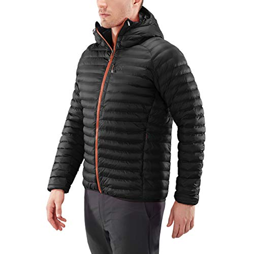 Haglofs Essens Mimic Hooded Jacket - AW18 - Medium - Black from Haglofs