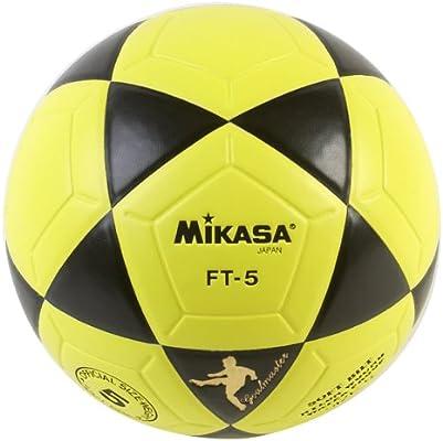 Mikasa FT5 - Balón de fútbol (tamaño 5), Color Amarillo y Blanco ...