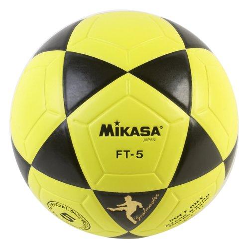 Mikasa FT5 Goal Master Soccer Ball (Yellow/Black, Size 5)