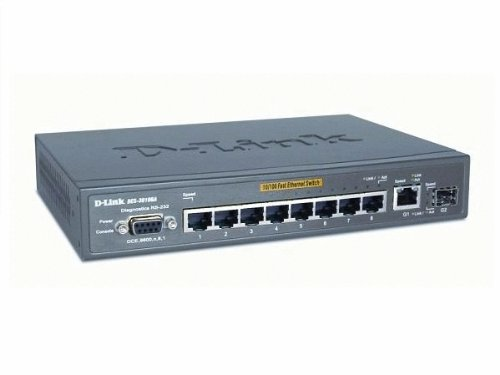 Switch 8-PORT 10/100MBPS Mgmt