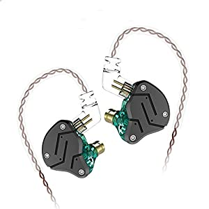 KZ ZSN Hybrid Driver IEM Detachable Tangle-Fr...