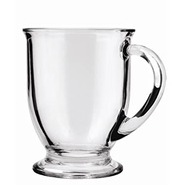 Anchor Hocking 16-Ounce Café Mug Beverage Set, Set of 6
