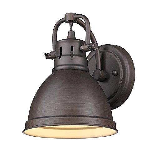 Golden Lighting 3602-BA1 CH Duncan Bath Fixture, Chrome