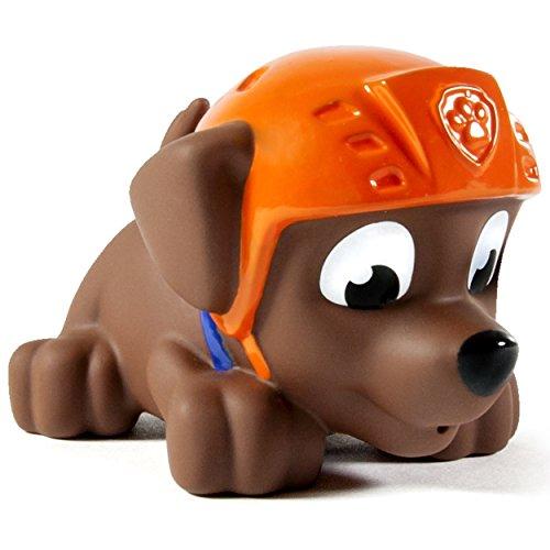 Lot of 3 Paw Patrol Zuma Toys Bath Squirter, Plush, & Racer