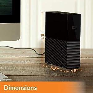 WD 3TB My Book Desktop External Hard Drive