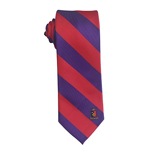 Sigma Phi Epsilon Fraternity Necktie Tie Greek Formal Occasion Standard Length Width Hanky Pocket Square (Striped Crest - Fendi California