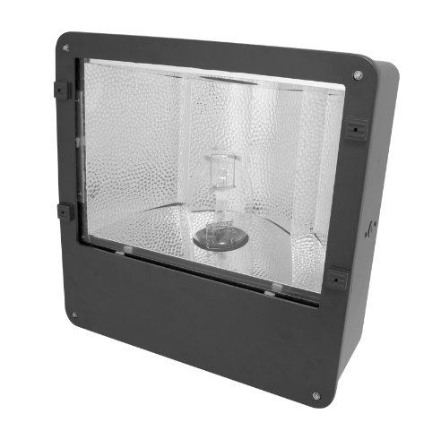Howard Lighting LFL-400-PS-4T-A  Flood Light with 400W Pulse Start Metal Halide, Large - Hid Fixture Quad Tap