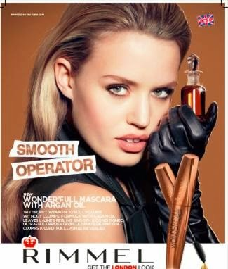 **PRINT AD** With Georgia May Jagger For 2015 Rimmel Smooth Operator - Georgia Jagger