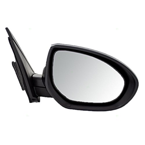 Passengers Power Side View Mirror Smooth Replacement for Mazda 3 Mazda3 BBM26912ZL AutoAndArt - Mazda Side Mirror