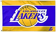 WinCraft Los Angeles Lakers Flag 3'x5' - LA Lakers Flag
